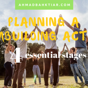 Planning a Teambuilding Activity: 4 Essential Stages