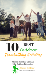 10 Best Outdoor Teambuilding Activities