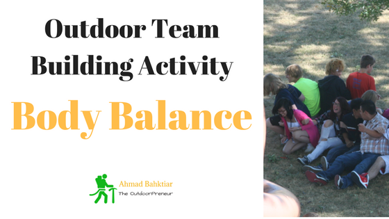 Outdoor Teambuilding Activity: Body Balance