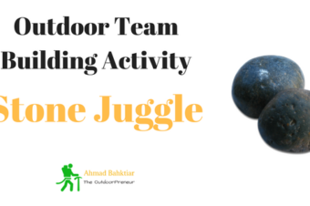 Outdoor Teambuilding Activity: Stone Juggle