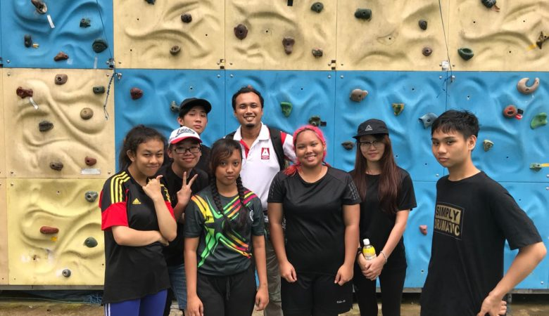 Abseiling Proficiency Course Level 1 16/12/2017 ITE Simei